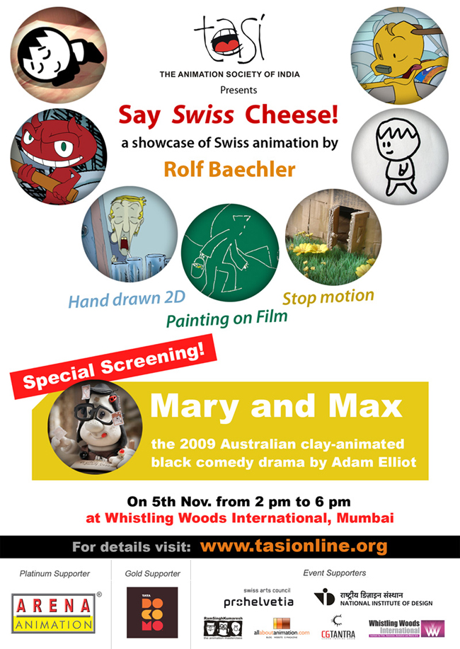TASI: Swiss Cheese with Mary and Max